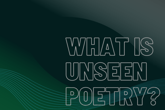 What is Unseen Poetry